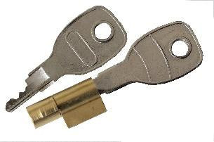 WT-Metall Hitch Lock Cylinder With Keys