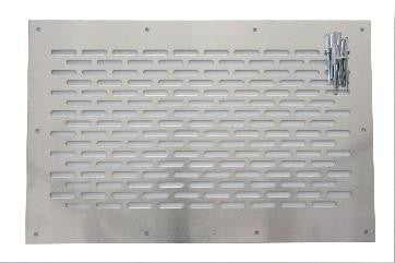 Wt-Metall Square Inner Ventilation Grill