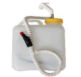 Wt-Metall Water Tank With Shower And  Pump (10L)