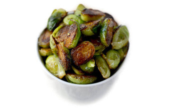 Balsamic Honey-Roasted Brussel Sprouts