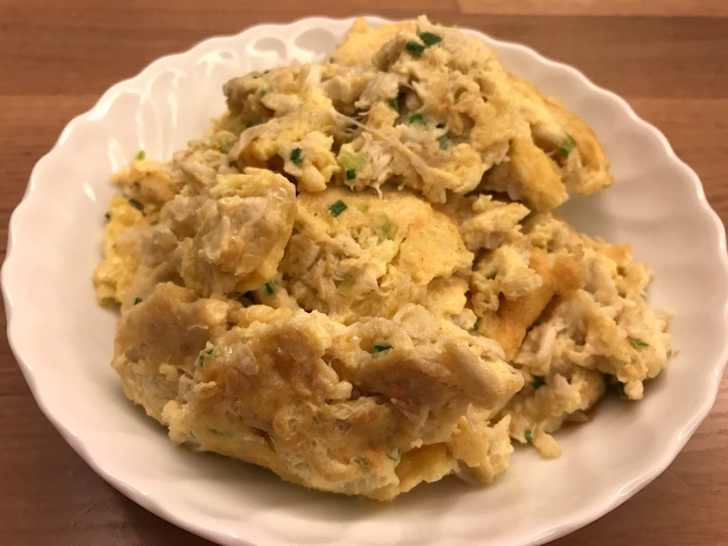 Cantonese Crab Scrambled Egg
