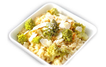 Broccoflower Risotto