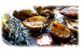 Honey-Roasted Jerusalem Artichokes