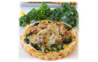 Swiss & Kale Quiche