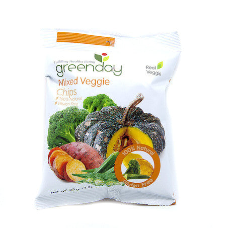 Greenday's Mixed Vegetable Chips
