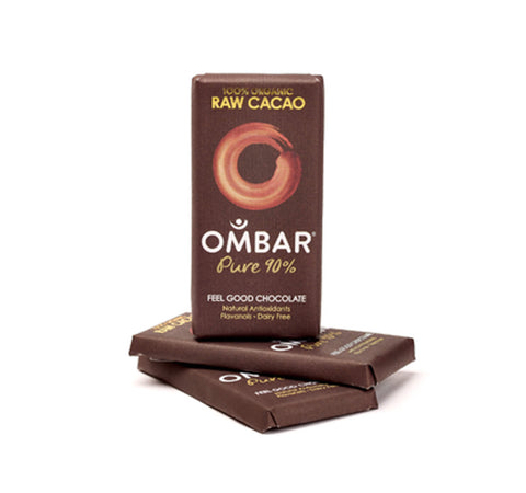 Ombar's 90% Raw Cacao Bar