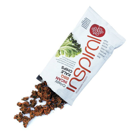 inSpiral's Incan BBQ Kale Chips