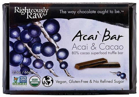 Righteously Raw's Açaí Truffle Bars