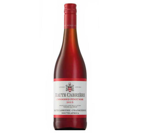 Haute Cabriere Unwooded Pinot Noir 2015
