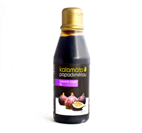 Papadimitriou's Kalamata Balsamic Cream with Figs