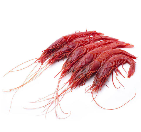 "Spanish Scarlet ""Carabineros"" Prawns (U4 - Extra Colossal) (Frozen) - 7-8 pcs"