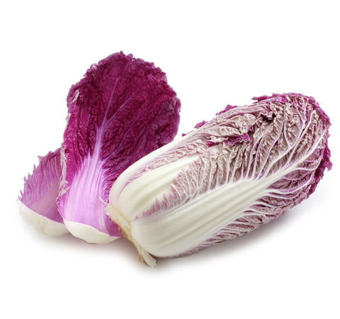 Chinese Cabbage - Purple Wombok (黃芽白-紫色)