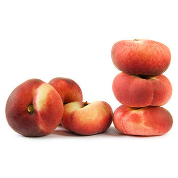 White Donut Peaches (6 pcs)
