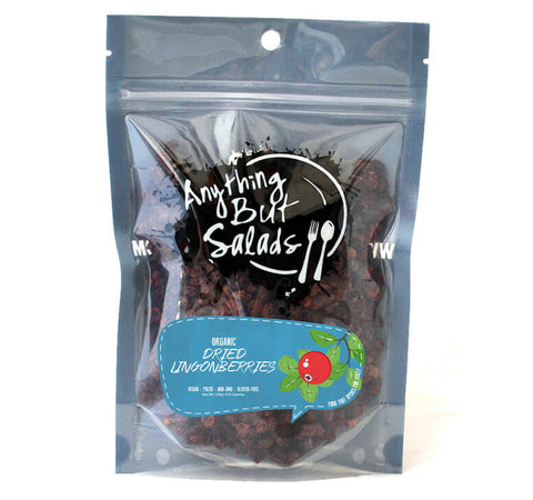 Anything But Salad's Organic Dried Lingonberries