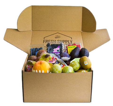 Fresh Supply Seasonal Fruit Crate