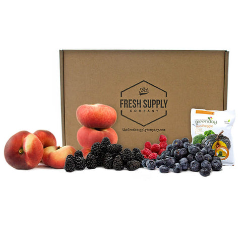 Fresh Supply Fruit & Snack Crate