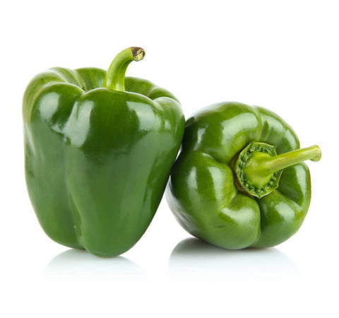 Green Bell Peppers (2 pcs)