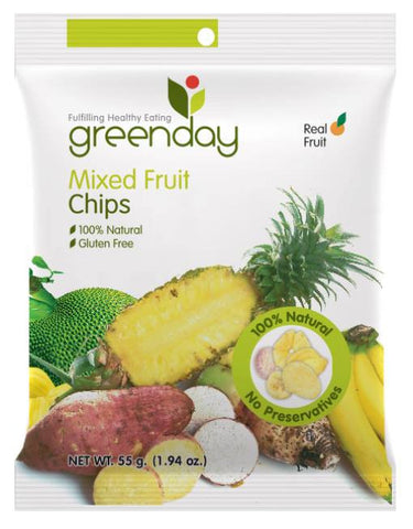 Greenday's Mixed Fruit Chips