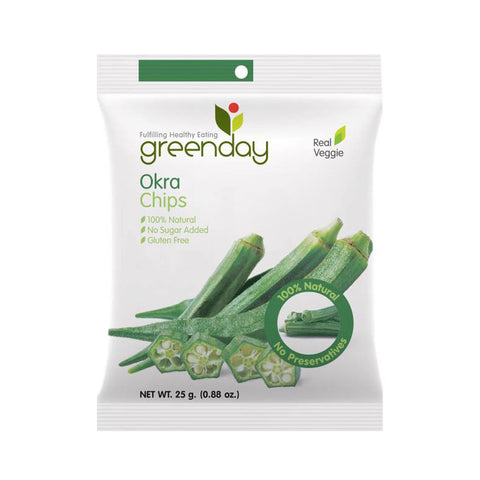 Greenday's Okra Chips