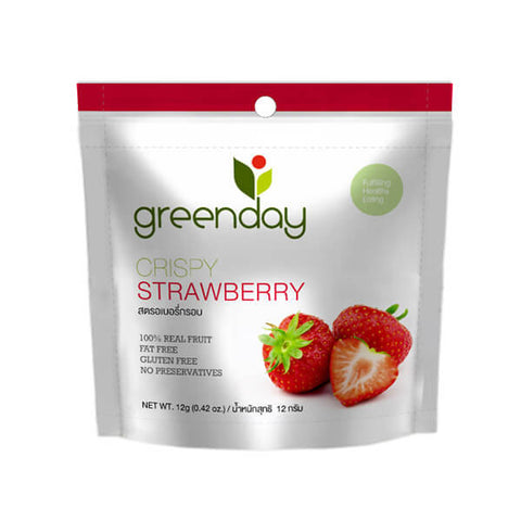 Greenday's Crispy Strawberry Chips