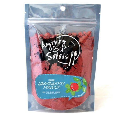 Anything But Salad's Organic Lingoberry Powder
