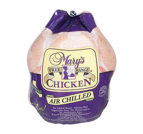 Mary's Free Range Whole Chicken (Frozen)