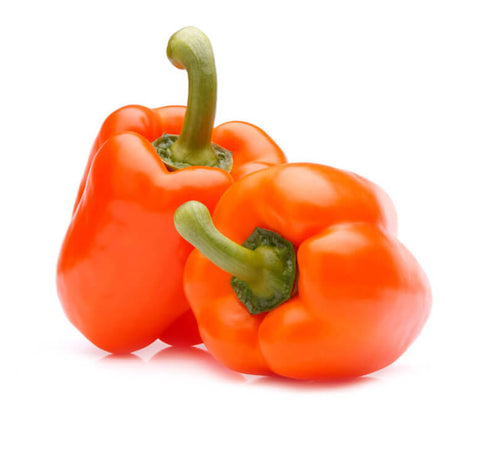 Orange Bell Peppers (2 pcs)