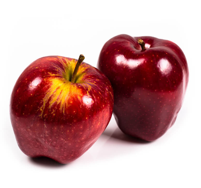 Red Delicious Apples Organic 3 Pcs The Fresh Supply Company