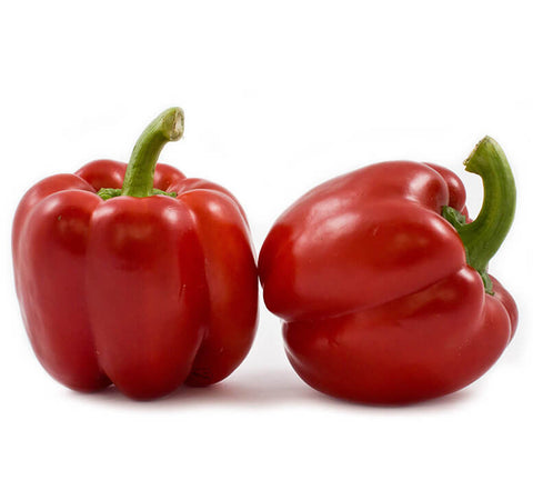 Red Bell Peppers (2 pcs)