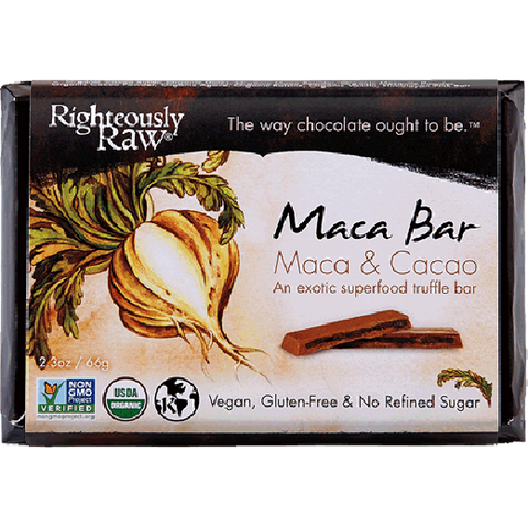 Righteously Raw's Maca Truffle Bars