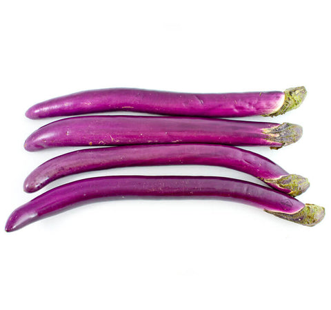 Purple Chinese Aubergines