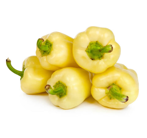 White Bell Peppers (5 pcs)