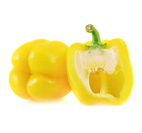 Yellow Bell Peppers (2 pcs) - Organic