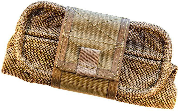 HSGI Mag-Net Dump Pouch MOLLE Coyote Brown 12DP00CB