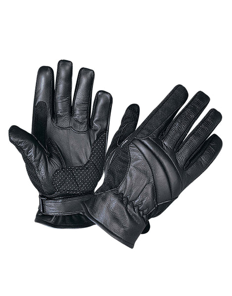 UNIK INTERNATIONAL BLACK FULL FINGER GLOVES