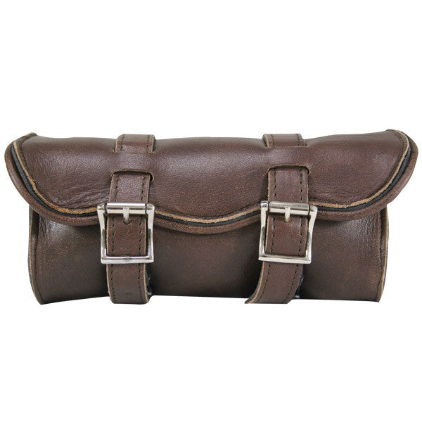 UNIK INTERNATIONAL BROWN RETRO TOOL BAG