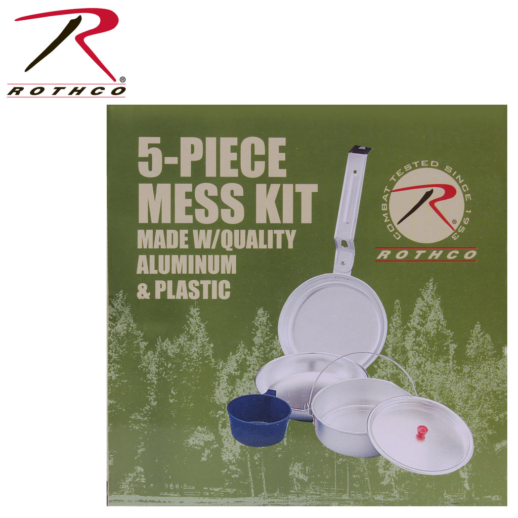 Rothco 5-Piece Mess Kits
