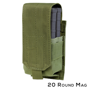 CONDOR 191088 Single M14 Mag Pouch - Gen II
