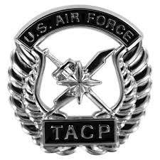 AIR FORCE BERET BADGE: TACTICAL AIR CONTROL PARTY: TACP