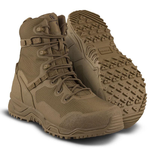 "ALTAMA COYOTE RAPTOR 8"" SAFETY TOE BOOTS"