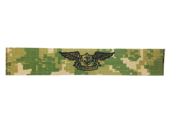 NAVY EMBROIDERED BADGE: AVIATION WARFARE - WOODLAND DIGITAL