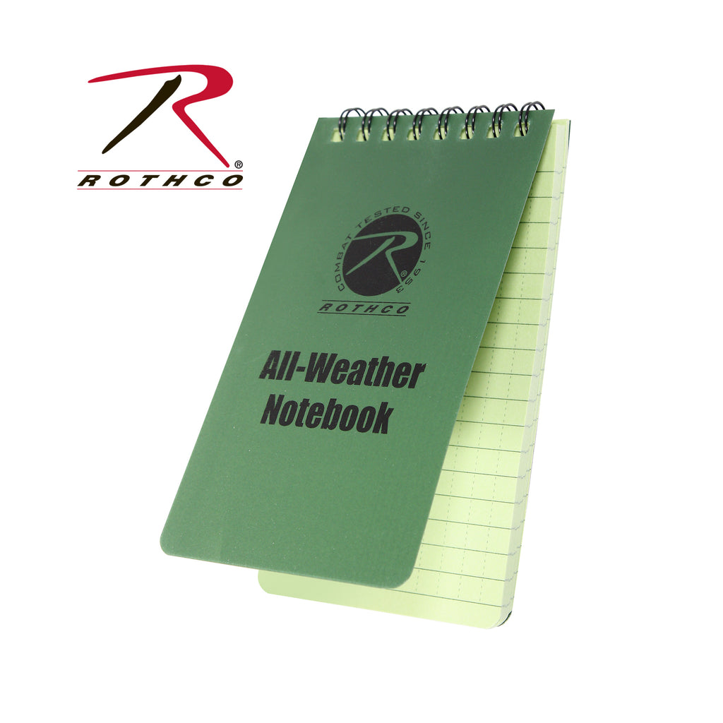 Rothco All Weather Waterproof Notebook
