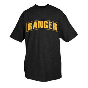 BLK / YELLOW RANGER T-SHIRT