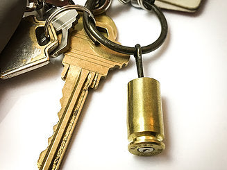GRENADE PIN KEY RING