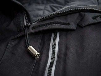 BULLET PARACORD ZIPPER PULL