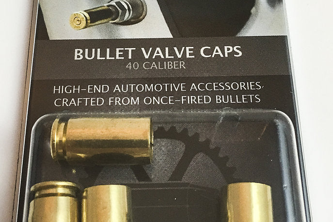 BULLET VALVE CAPS - SET OF 4 BRASS