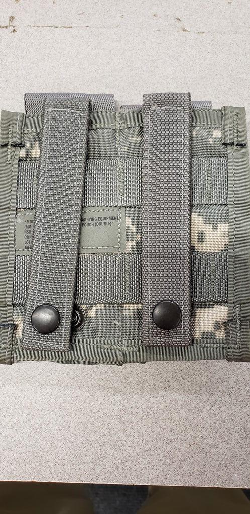 ACU MOLLE II 40MM PYROTECHNIC POUCH ( DOUBLE ) 8465-01-524-7636