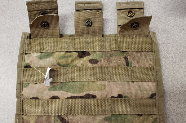 OCP MOLLE II M-4 THREE MAG SIDE X SIDE POUCH 8465-01-580-0967