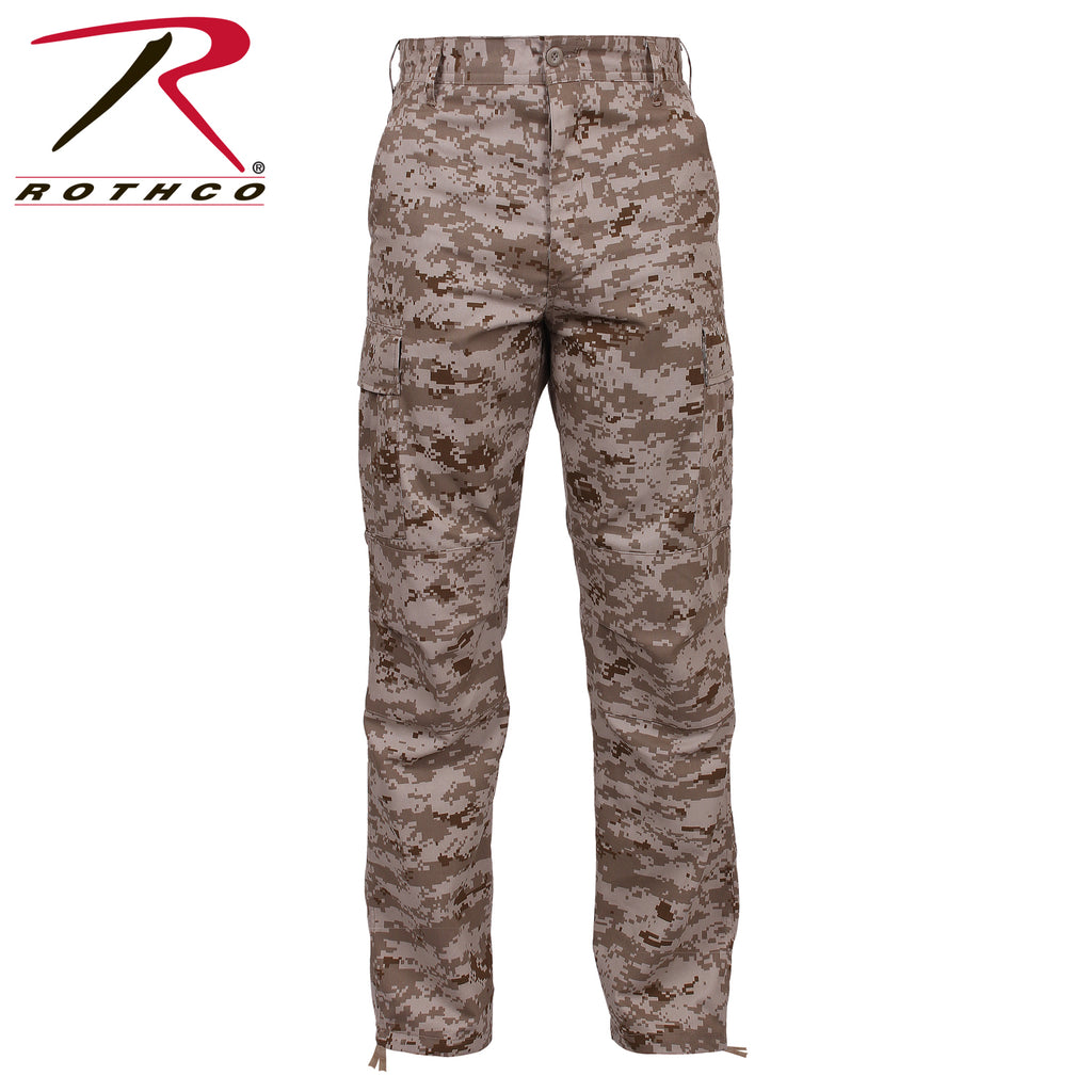 Desert Digital Camo Rothco Digital Camo Tactical BDU Pants