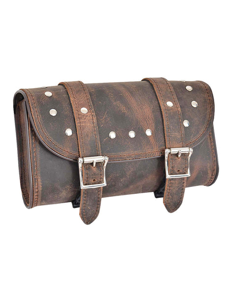 UNIK INTERNATIONAL DEADWOOD LEATHER TOOL BAG